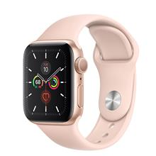 Apple Watch 5 GPS 40mm Gold Aluminum Case With Pink Sand Sport Band